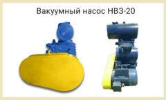 Новый вакуумный насос НВЗ-20